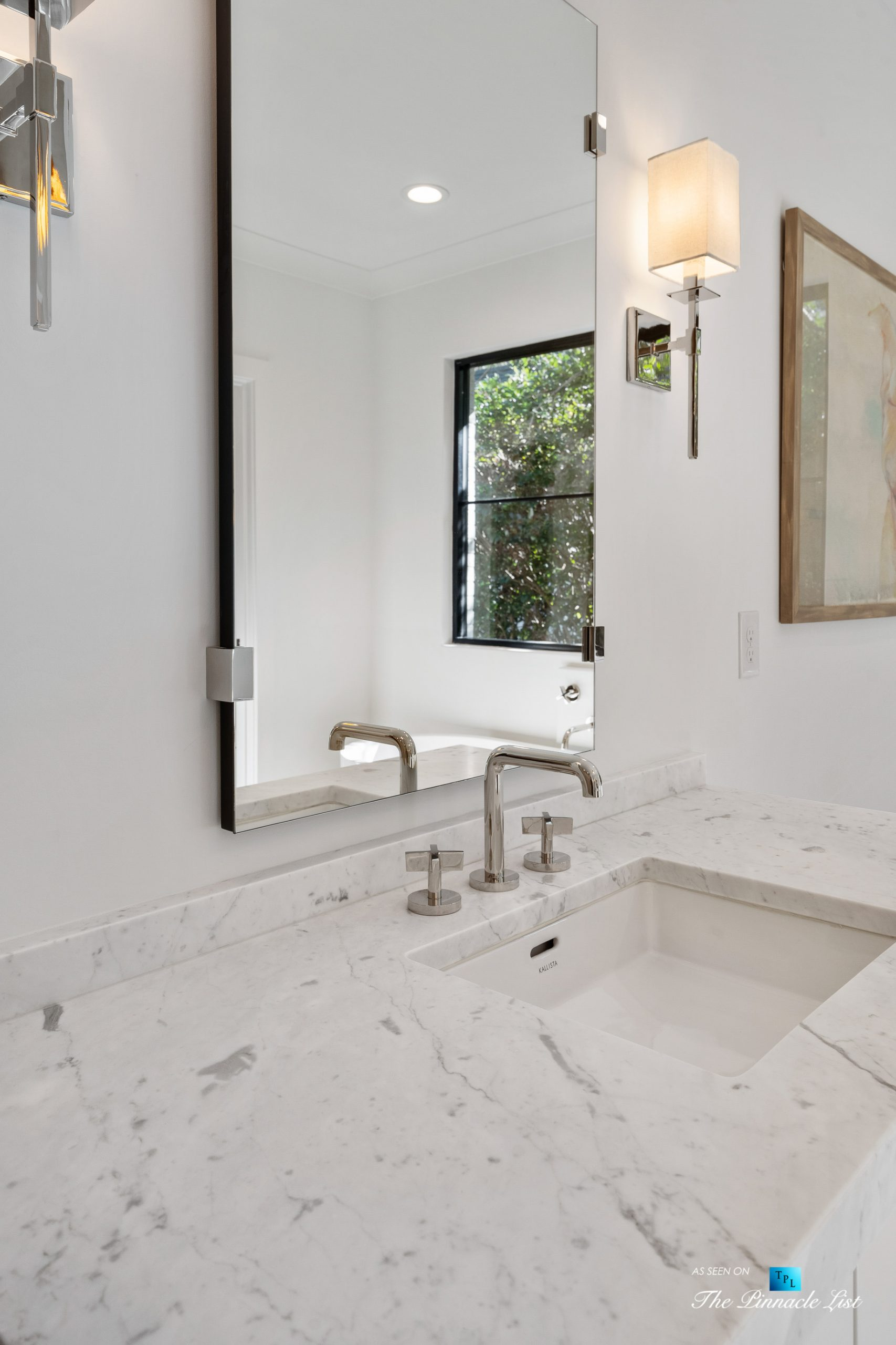 447 Valley Rd NW, Atlanta, GA, USA – Master Bathroom Sink Faucet – Luxury Real Estate – Tuxedo Park Home