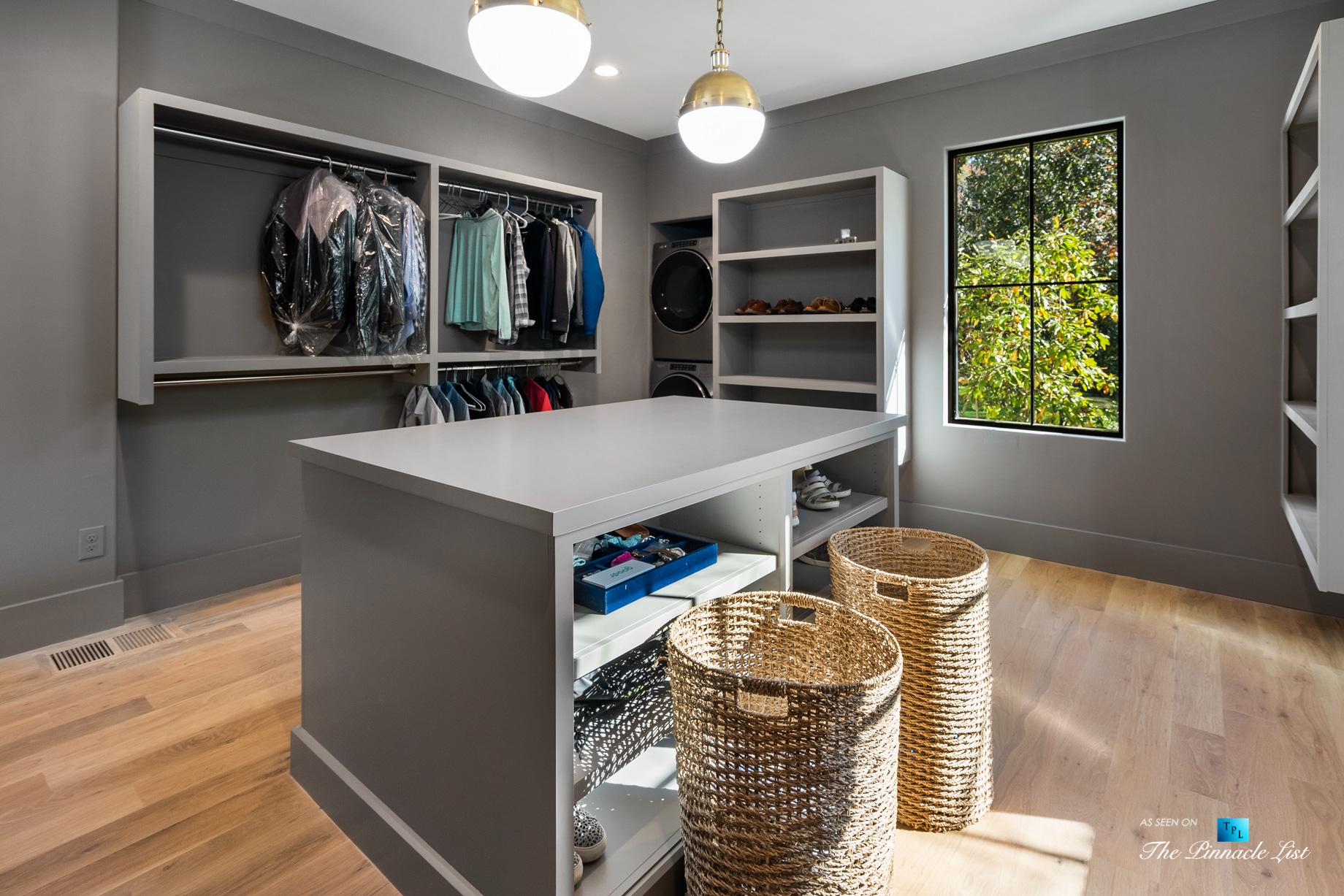 447 Valley Rd NW, Atlanta, GA, USA - Master Bedroom Walk In Closet Room - Luxury Real Estate - Tuxedo Park Home