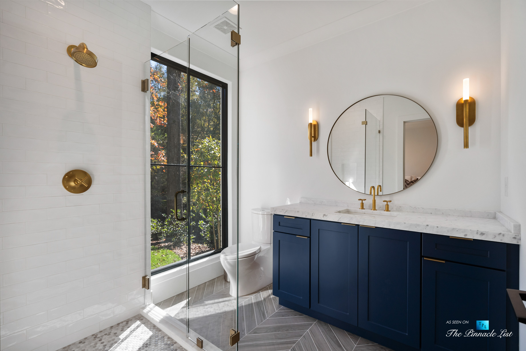 447 Valley Rd NW, Atlanta, GA, USA - Bathroom and Shower - Luxury Real Estate - Tuxedo Park Home