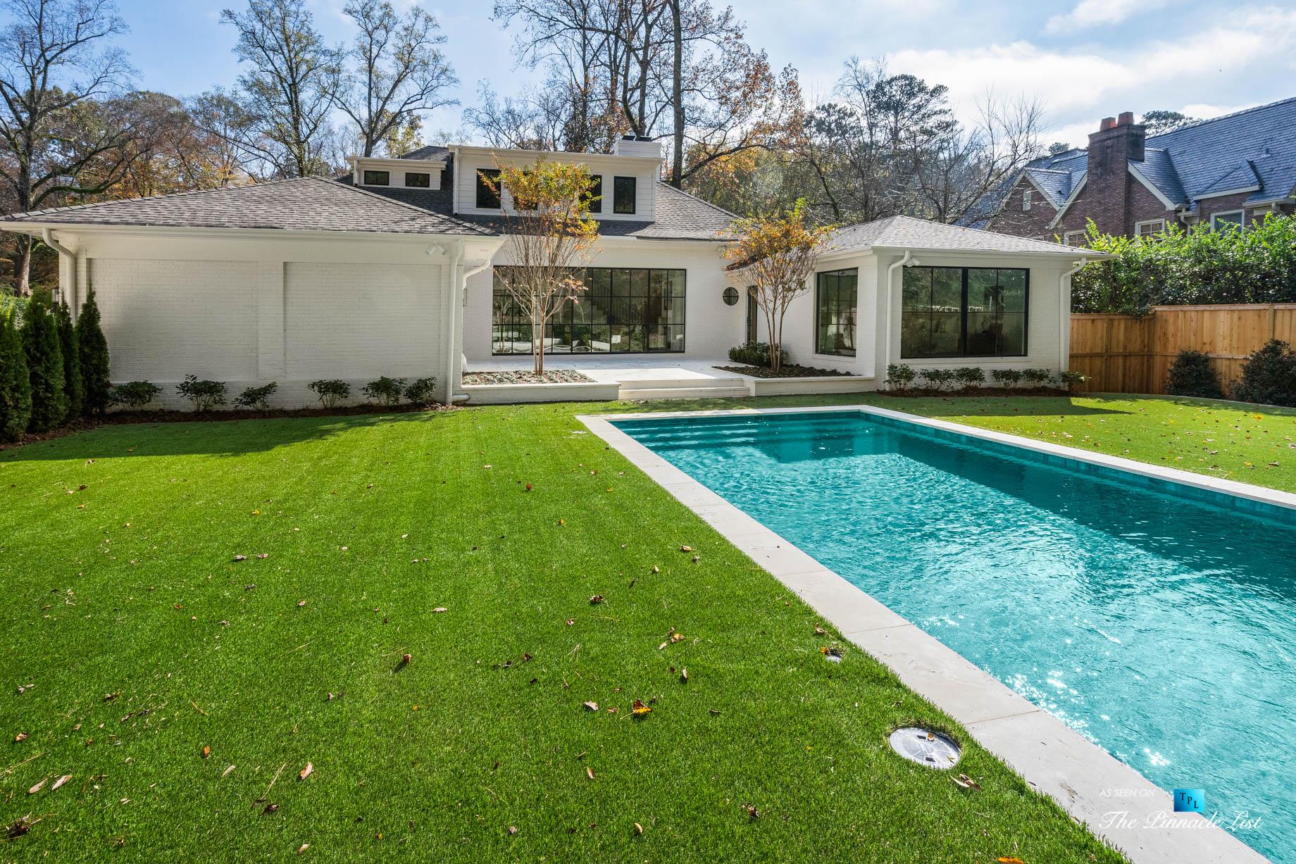447 Valley Rd NW, Atlanta, GA, USA – Backyard Pool – Luxury Real Estate – Tuxedo Park Home
