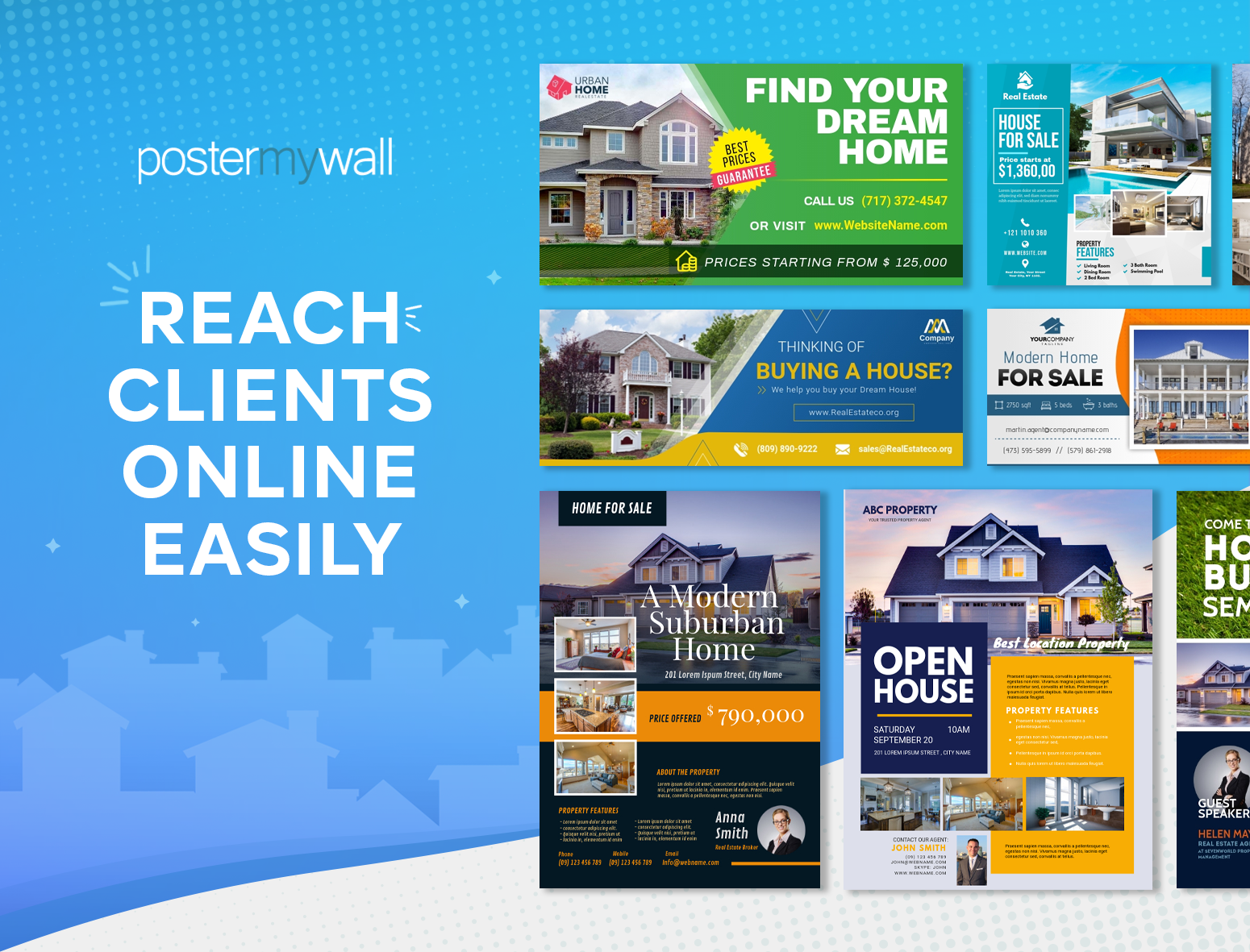 PosterMyWall - Reach Clients Online Easily