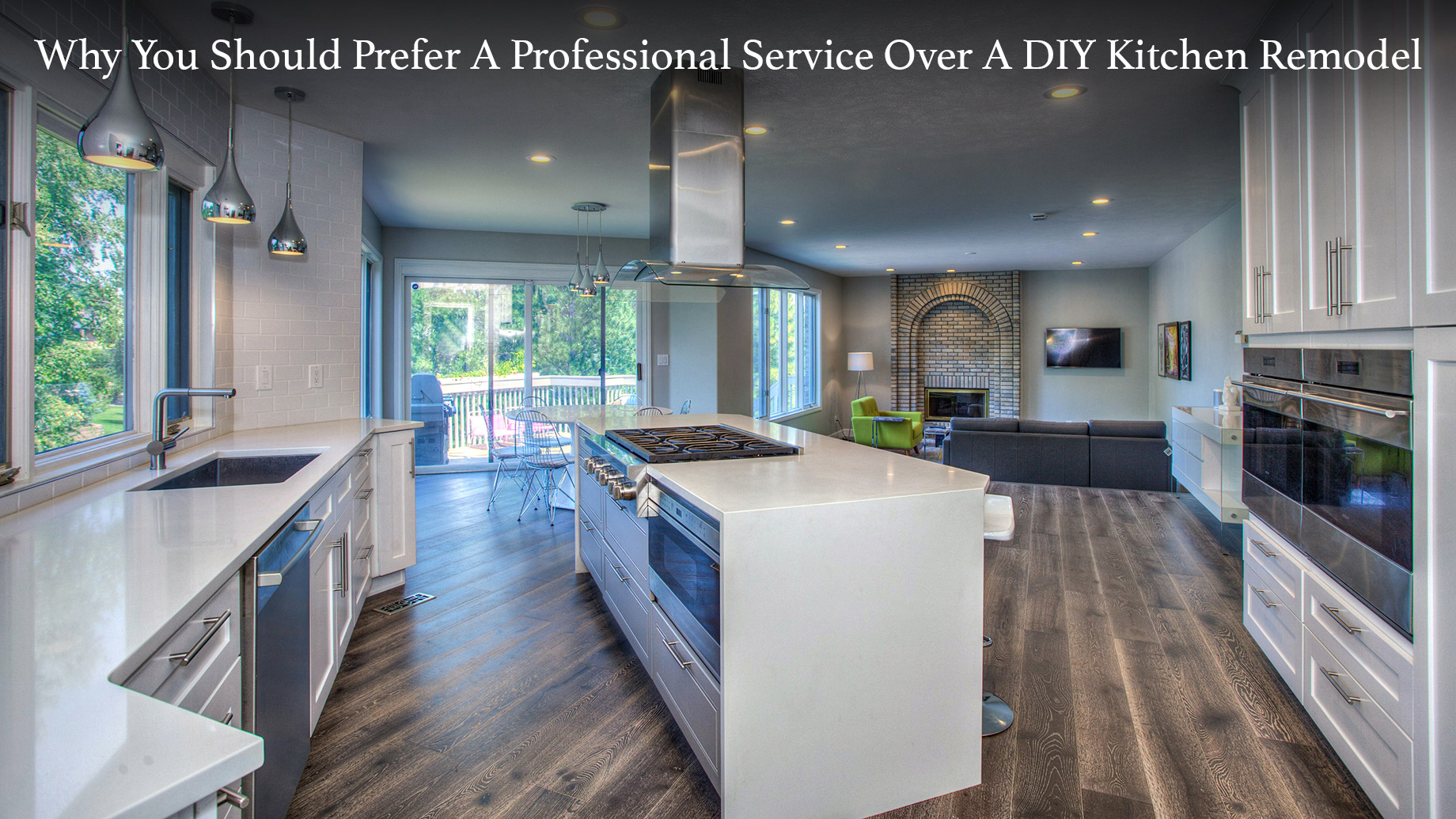 Why You Should Prefer A Professional Service Over A DIY Kitchen Remodel