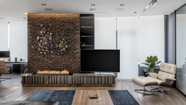 Black is Back Apartment Interior Design Kiev, Ukraine - 33bY Architecture