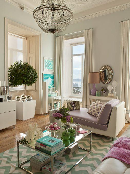 Chiado Charm Apartment Interior Design Lisbon, Portugal - Ana Antunes