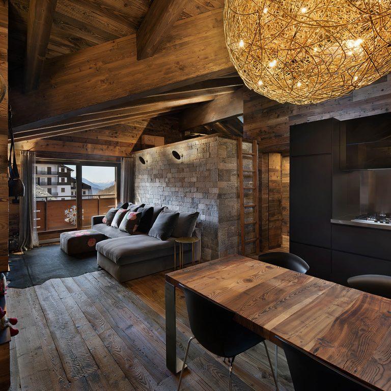 Aprica Chalet Interior Design Sondrio, Italy – Giuseppe Tortato