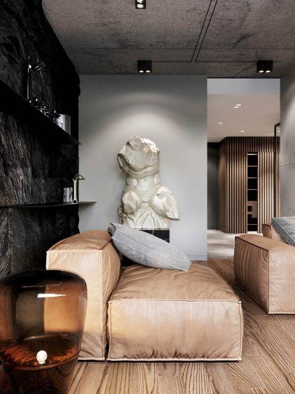 Gold Niva Interior Design Novosibirsk, Russia - Shubochkini Architects