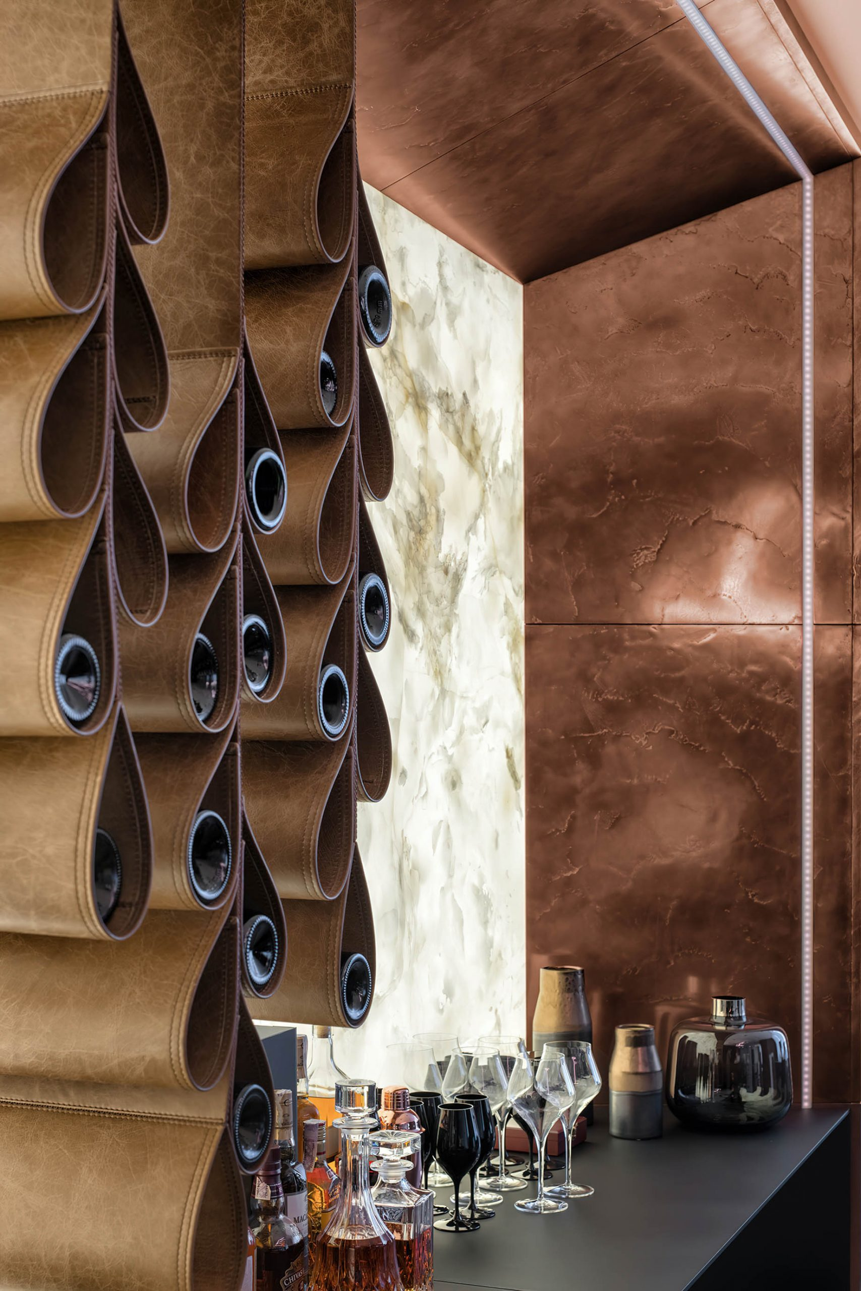 Black is Back Apartment Interior Design Kiev, Ukraine – 33bY Architecture