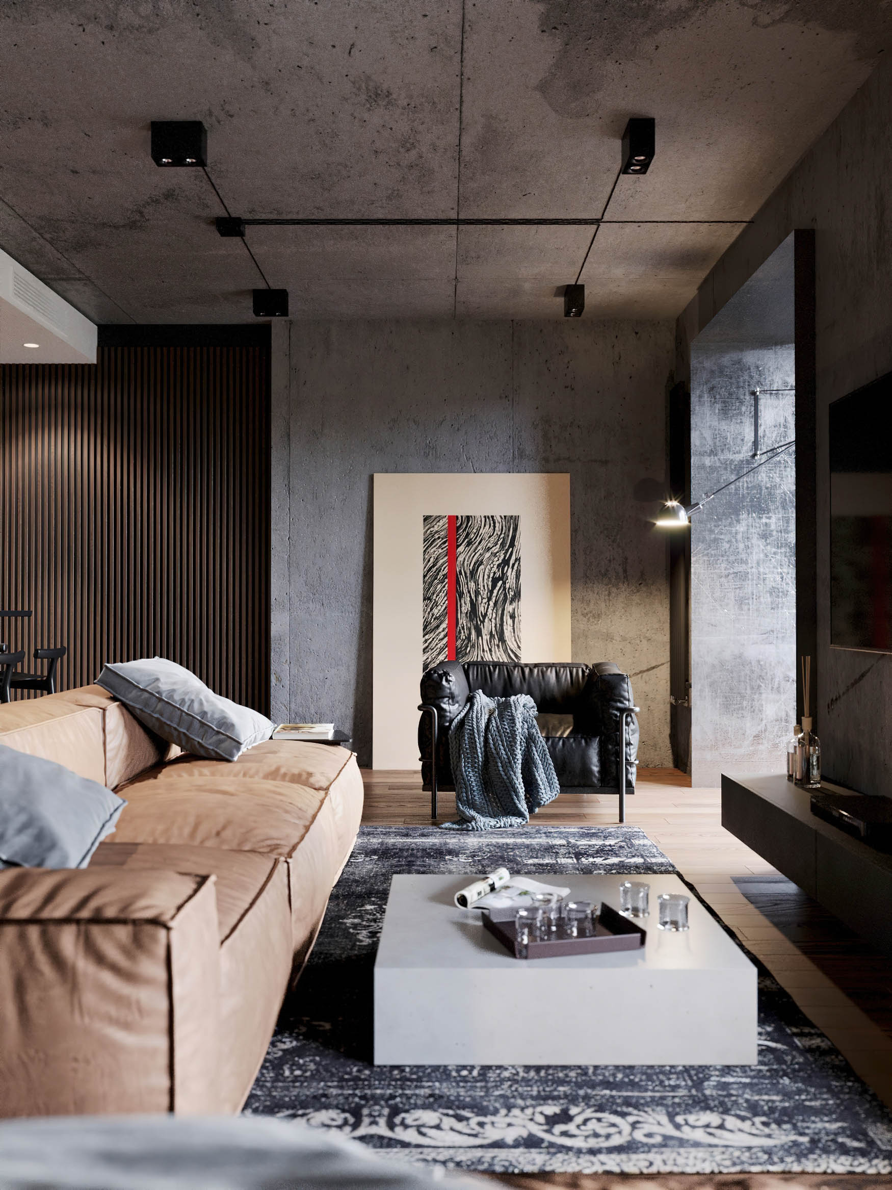 Gold Niva Interior Design Novosibirsk, Russia - Shubochkini Architects