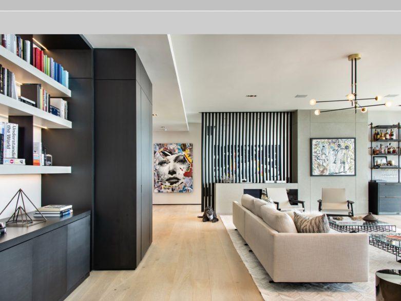 Echo Brickell Apartment Interior Design Miami, FL, USA - Blanca Wall