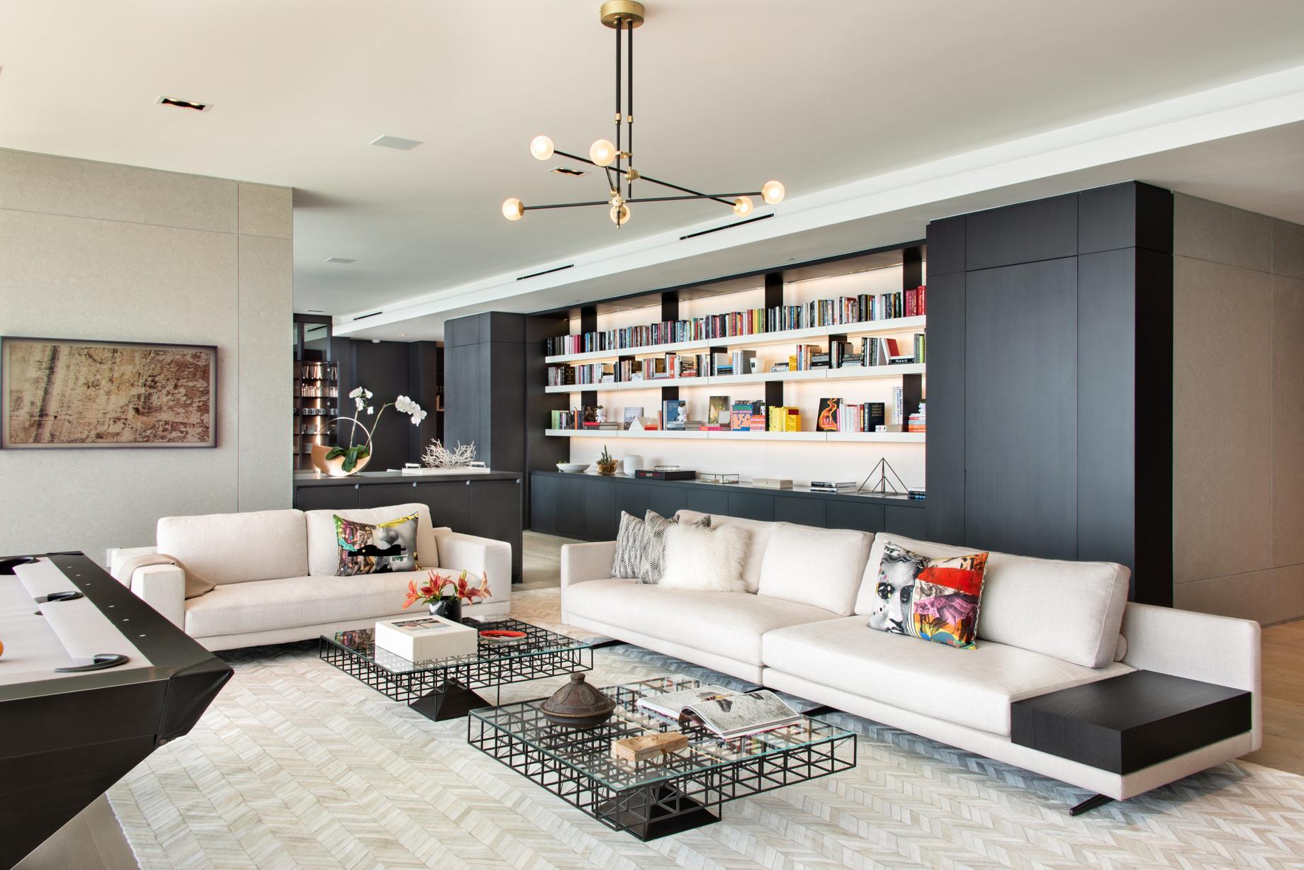 Echo Brickell Apartment Interior Design Miami, FL, USA – Blanca Wall