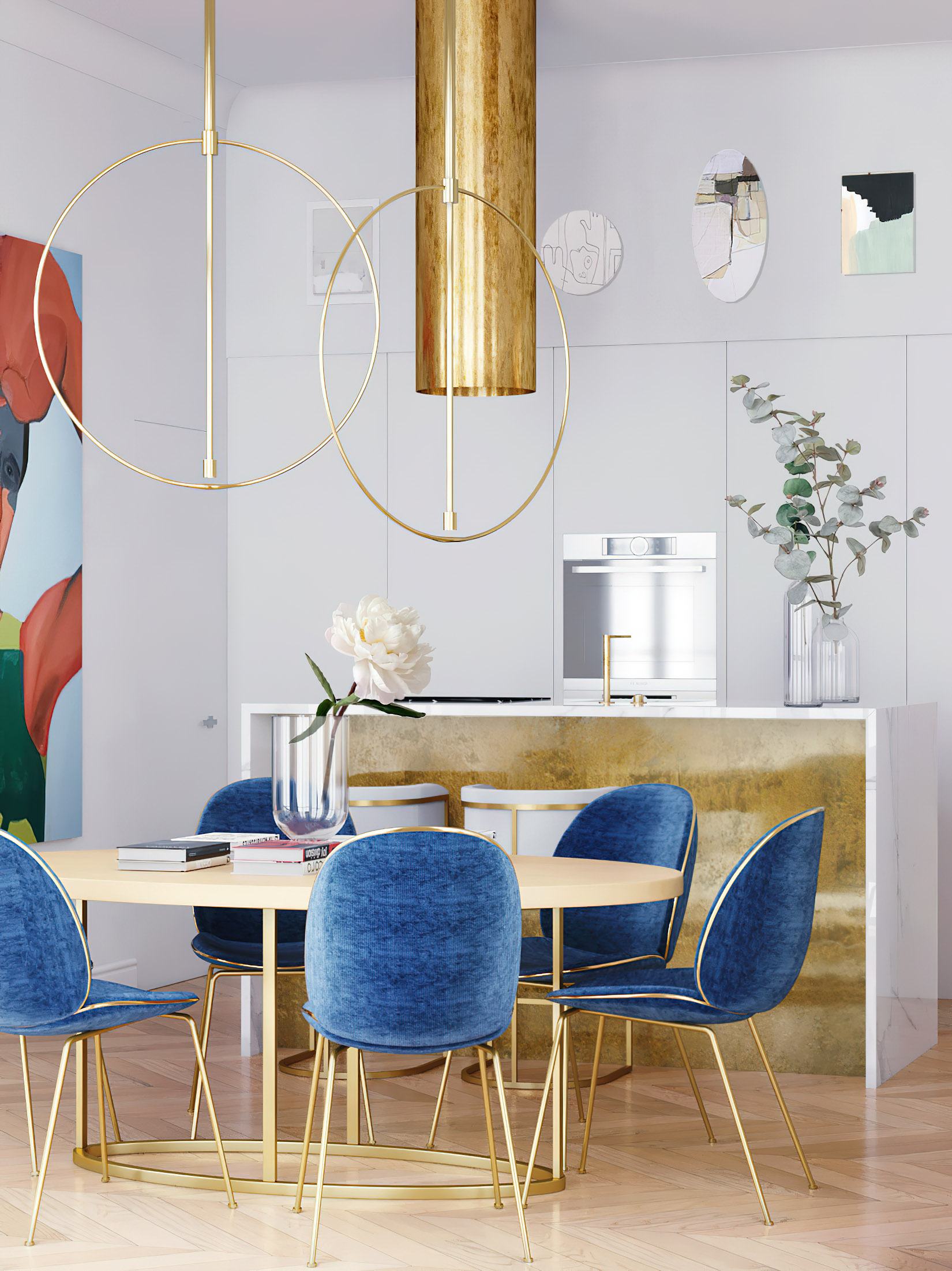 Parisian Apartment Interior Design New York, USA – Harry Nuriev
