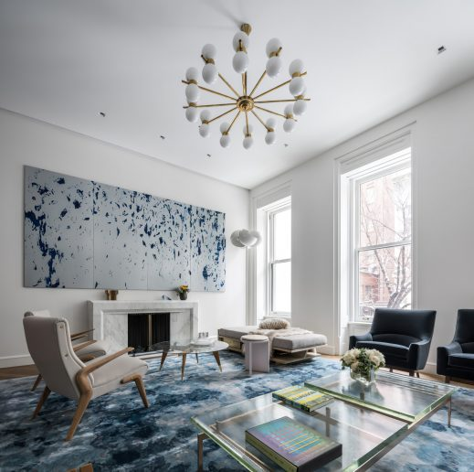 Upper East Side Townhouse Interior New York, NY, USA - Michael K Chen
