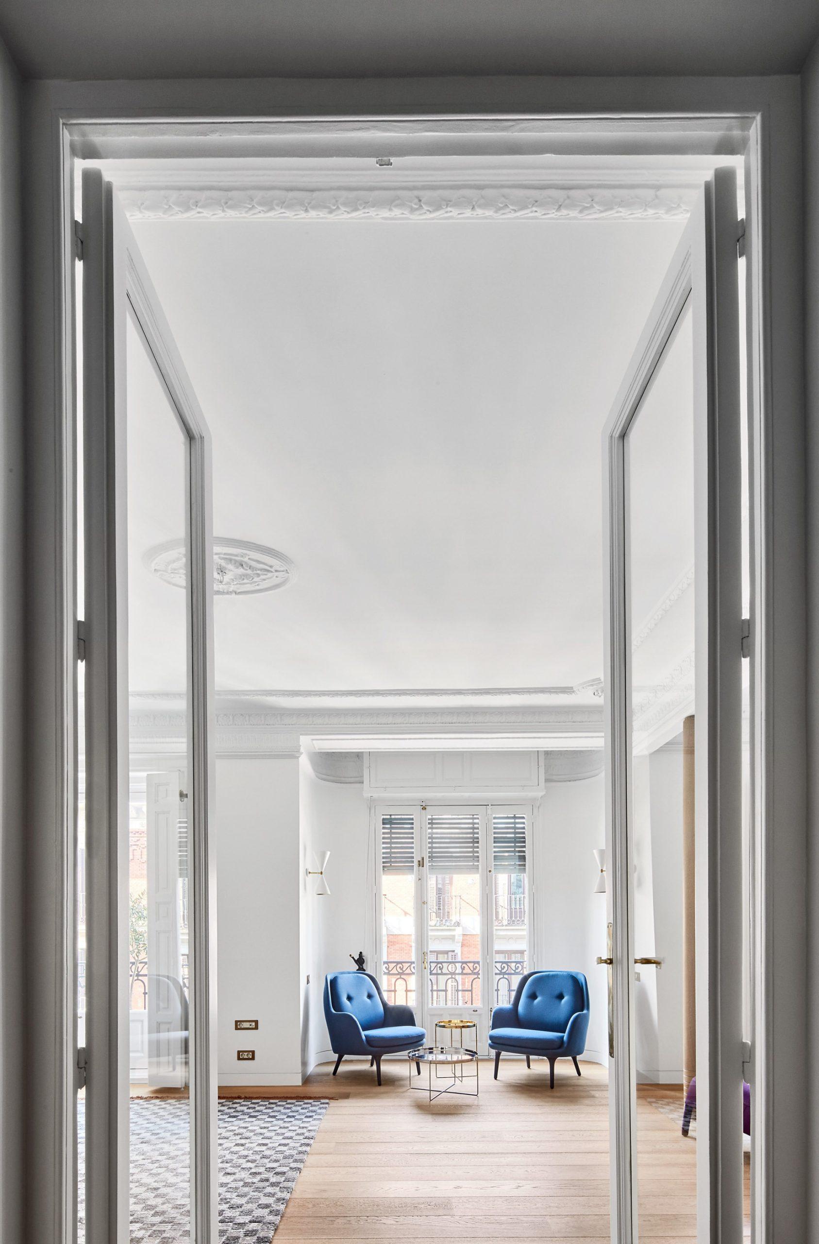 Casa NB8 Interior Barrio de Salamanca, Madrid, Spain – Lucas y Hernandez-Gil