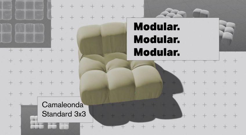 Camaleonda Classic Sofa Collection B&B Italia - Mario Bellini - Modular