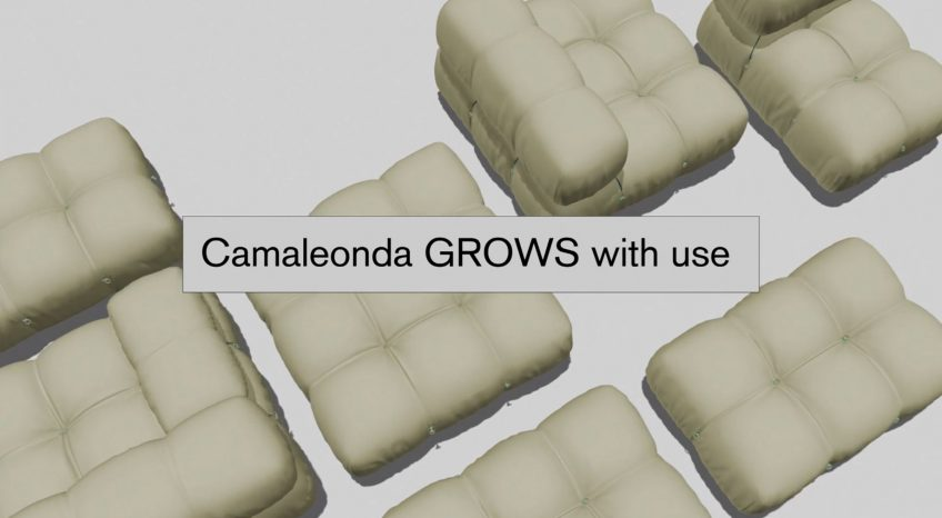Camaleonda Classic Sofa Collection B&B Italia - Mario Bellini - Grows With Use