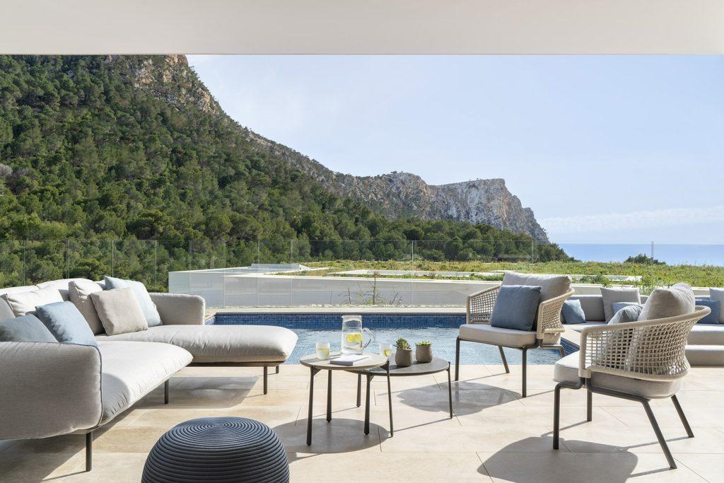 NF1 Villa Interior Cala Llamp, Port d'Andratx, Spain - Terraza Balear