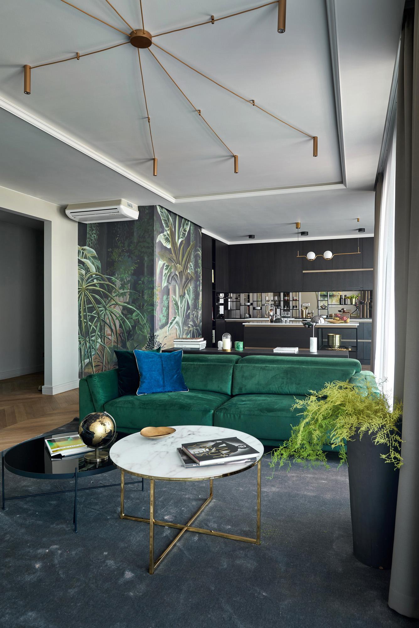 K40 Penthouse Interior Design Budapest, Hungary – Andrea Szakos