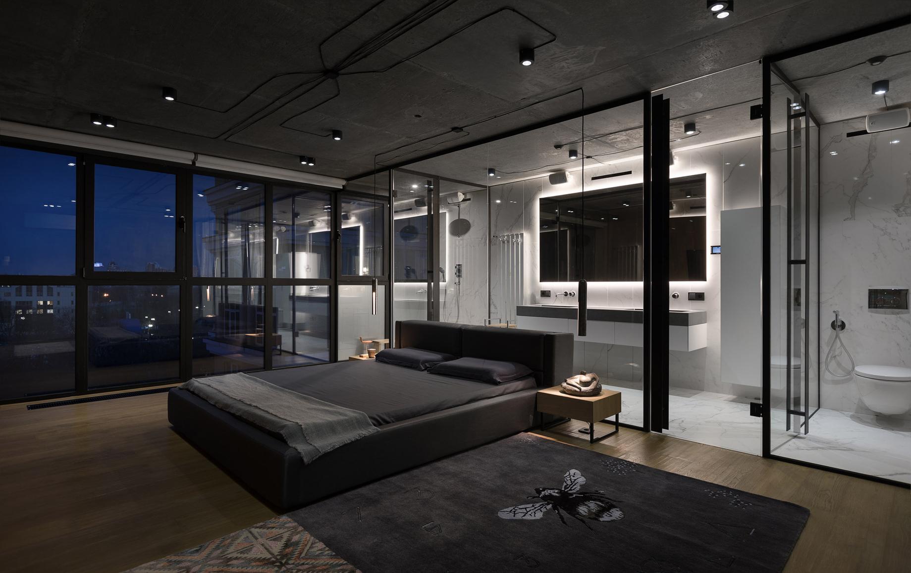 Mod Apartment Interior Design Kiev, Ukraine – Sergey Makhno Architects