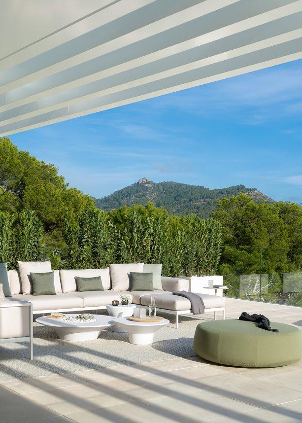Villa Statera Interior Design Camp de Mar, Mallorca, Spain - Terraza Balear