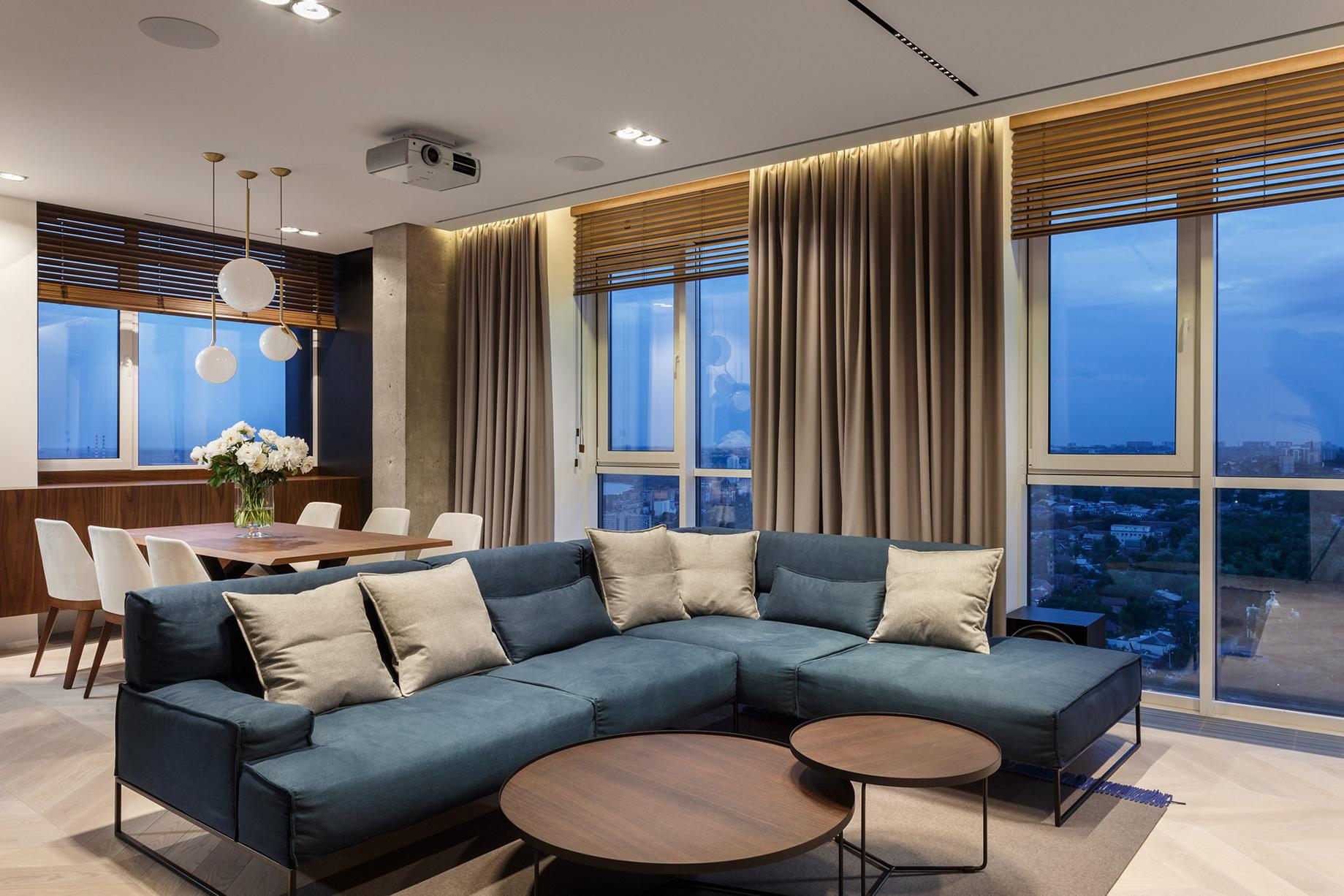River View Apartment Interior Design Dnipro, Ukraine – Svoya Studio