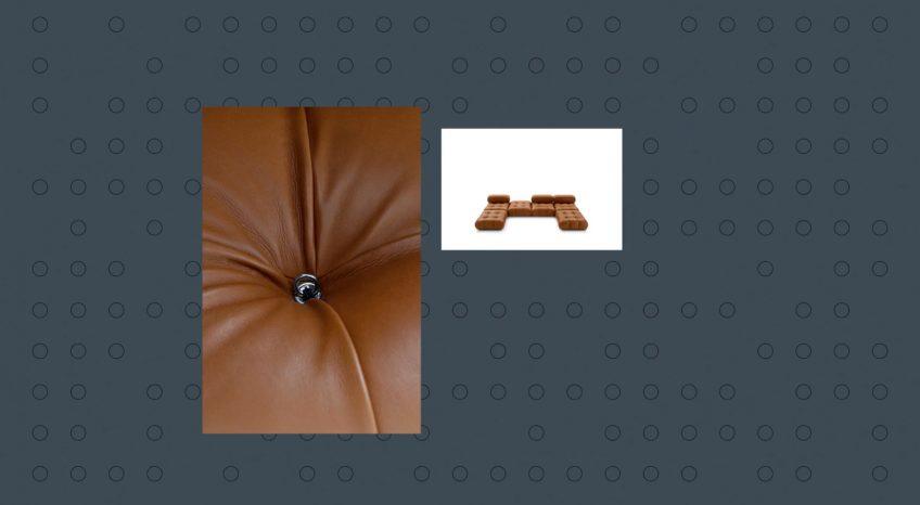 Camaleonda Classic Sofa Collection B&B Italia - Mario Bellini - Hooks and Rings