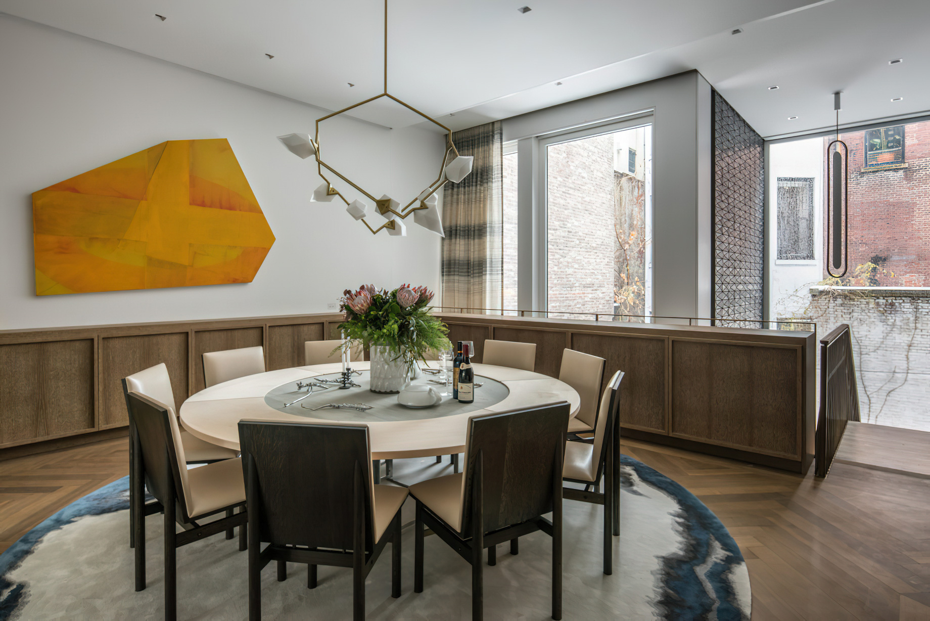 Upper East Side Townhouse Interior New York, NY, USA – Michael K Chen