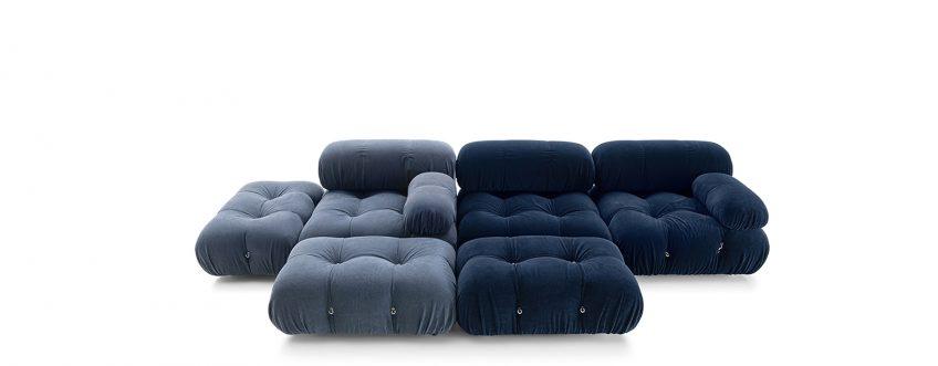 Camaleonda Classic Sofa Collection B&B Italia - Mario Bellini - Blue