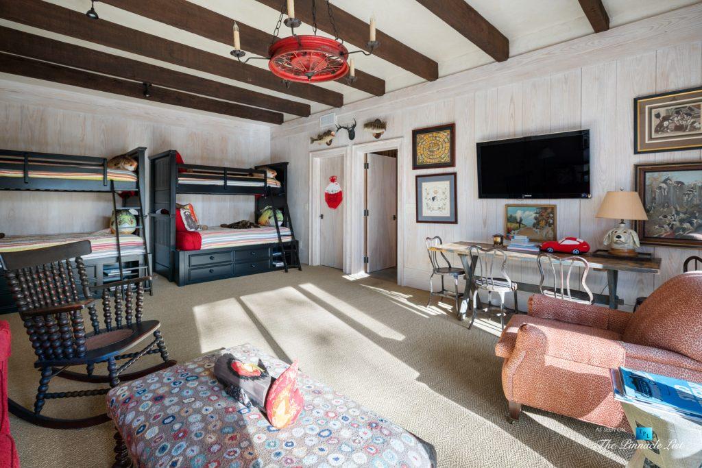 7860 Chestnut Hill Rd, Cumming, GA, USA - Kids Bedroom - Luxury Real Estate - Lake Lanier Mid-Century Modern Stone Home
