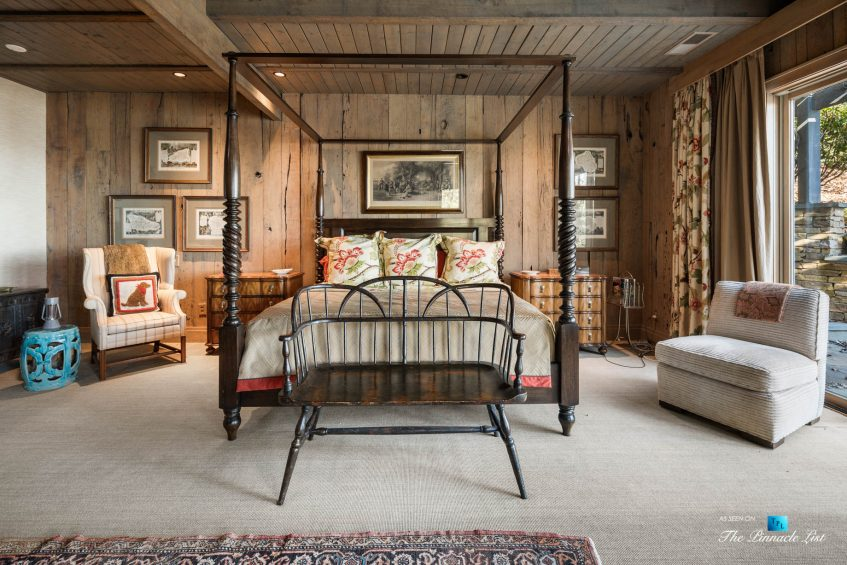 7860 Chestnut Hill Rd, Cumming, GA, USA - Bedroom - Luxury Real Estate - Lake Lanier Mid-Century Modern Stone Home