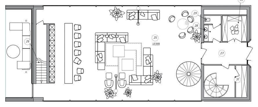 Floor Plans - Futago House Luxury Residence - Kiev, Ukraine