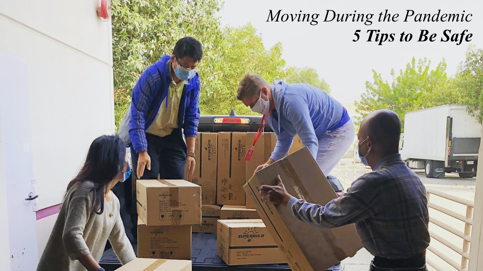 Moving During the Pandemic - 5 Tips to Be Safe