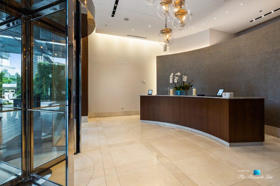 3630 Peachtree Rd NE, Unit 2808, Atlanta, GA, USA - Lobby Front Desk - Luxury Real Estate - The Ritz-Carlton Residences Buckhead