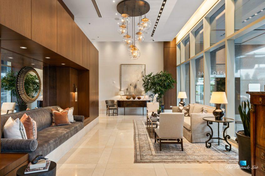 3630 Peachtree Rd NE, Unit 2808, Atlanta, GA, USA - Lobby Seating Area - Luxury Real Estate - The Ritz-Carlton Residences Buckhead