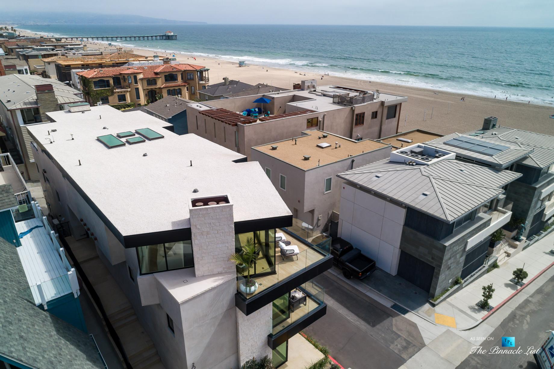 2016 Ocean Dr, Manhattan Beach, CA, USA – Drone Ocean View – Luxury Real Estate – Modern Ocean View Home