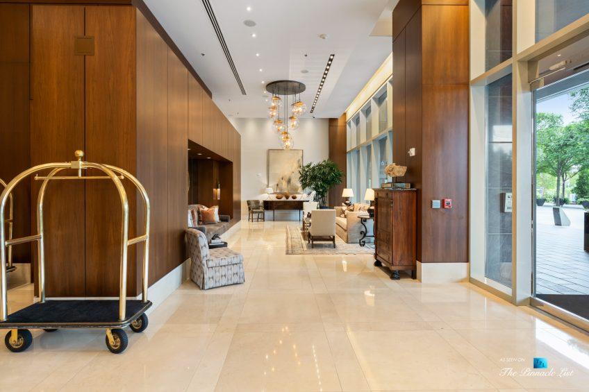 3630 Peachtree Rd NE, Unit 2808, Atlanta, GA, USA - Lobby - Luxury Real Estate - The Ritz-Carlton Residences Buckhead