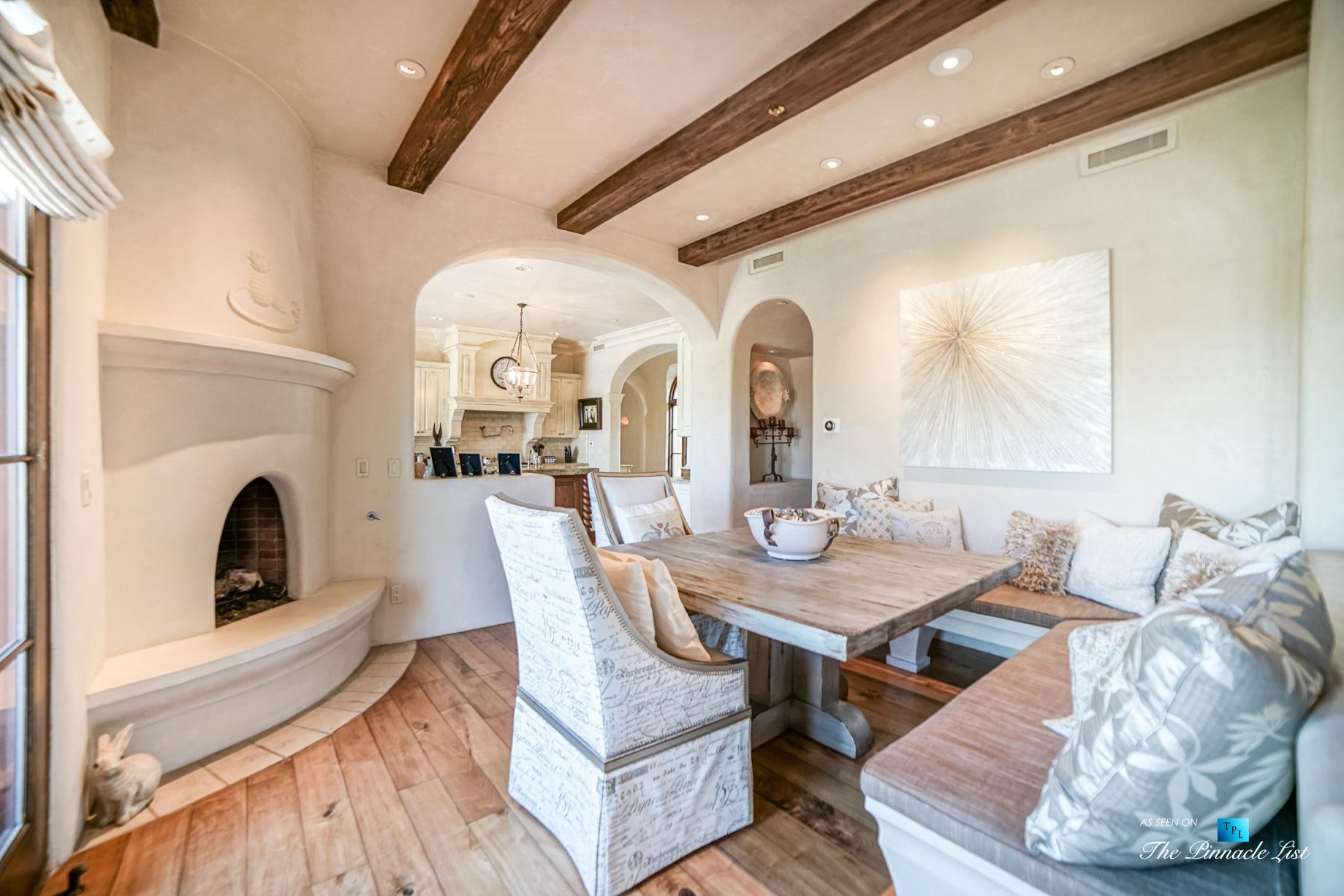 6539 N 31st Pl, Phoenix, AZ, USA – Kitchen Table – Luxury Real Estate – Biltmore Mountain Estates – Spanish Colonial Home