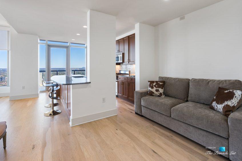 3630 Peachtree Rd NE, Unit 2808, Atlanta, GA, USA - Condo Sitting Area - Luxury Real Estate - The Ritz-Carlton Residences Buckhead