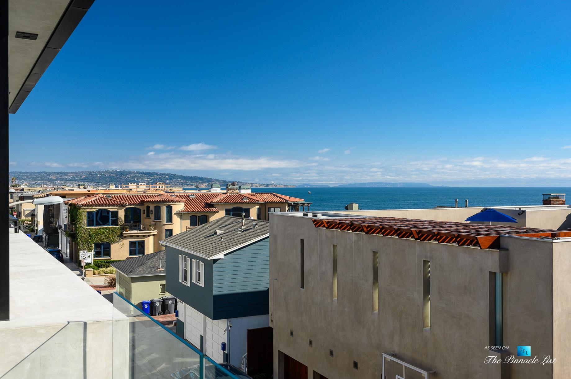 2016 Ocean Dr, Manhattan Beach, CA, USA – Balcony Ocean View – Luxury Real Estate – Modern Ocean View Home