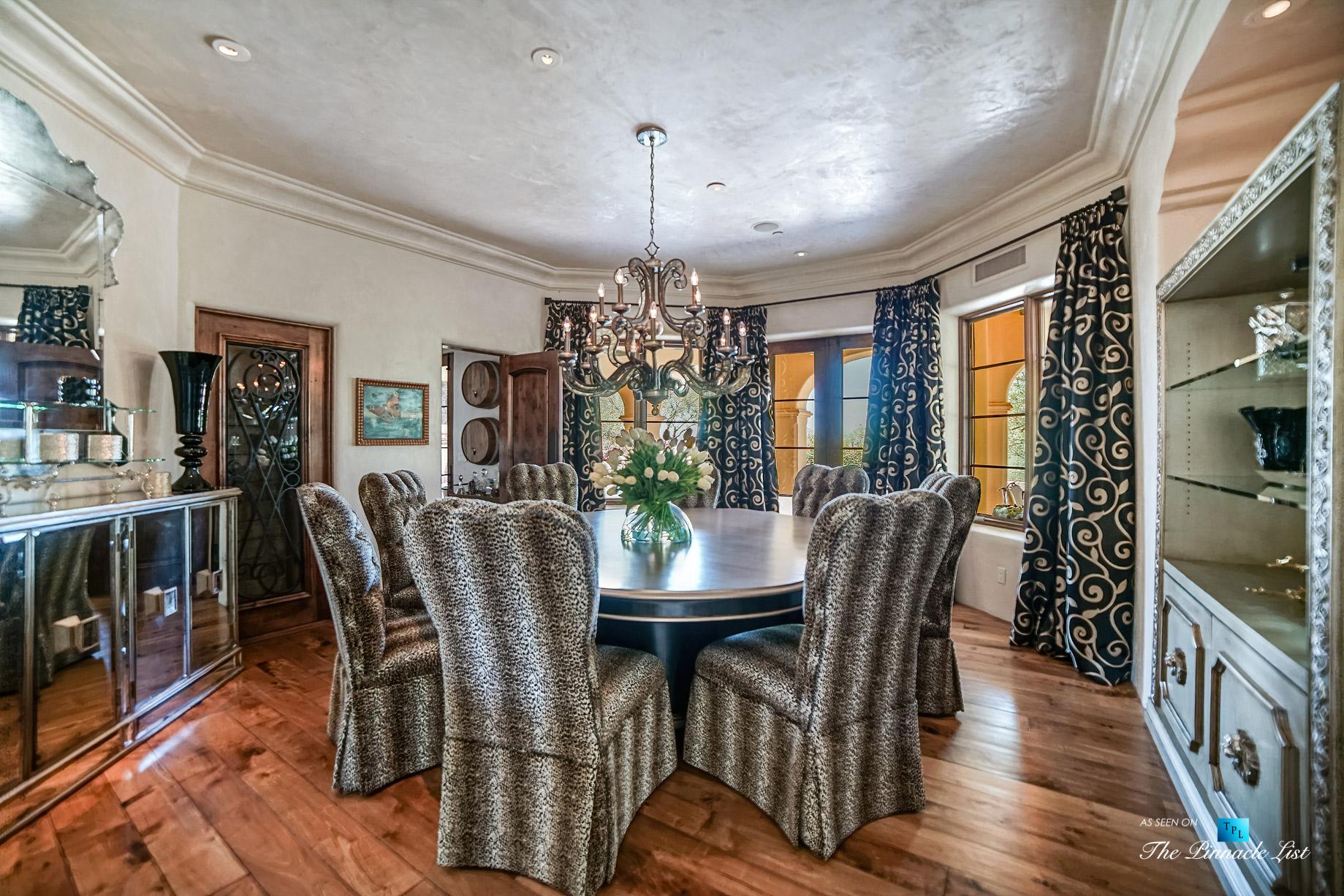 6539 N 31st Pl, Phoenix, AZ, USA – Dining Room – Luxury Real Estate – Biltmore Mountain Estates – Spanish Colonial Home