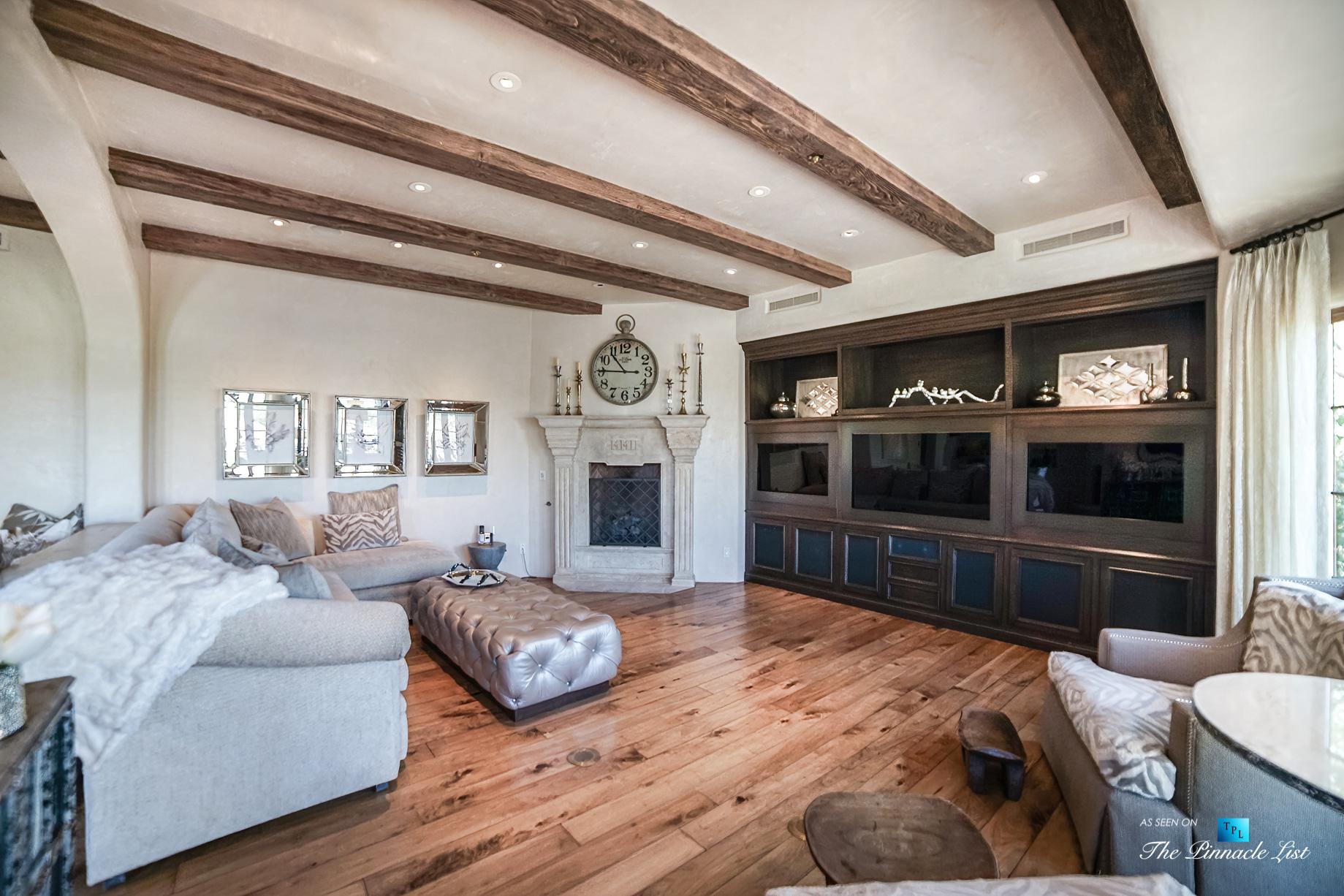 6539 N 31st Pl, Phoenix, AZ, USA - Family Room - Luxury Real Estate - Biltmore Mountain Estates - Spanish Colonial Home