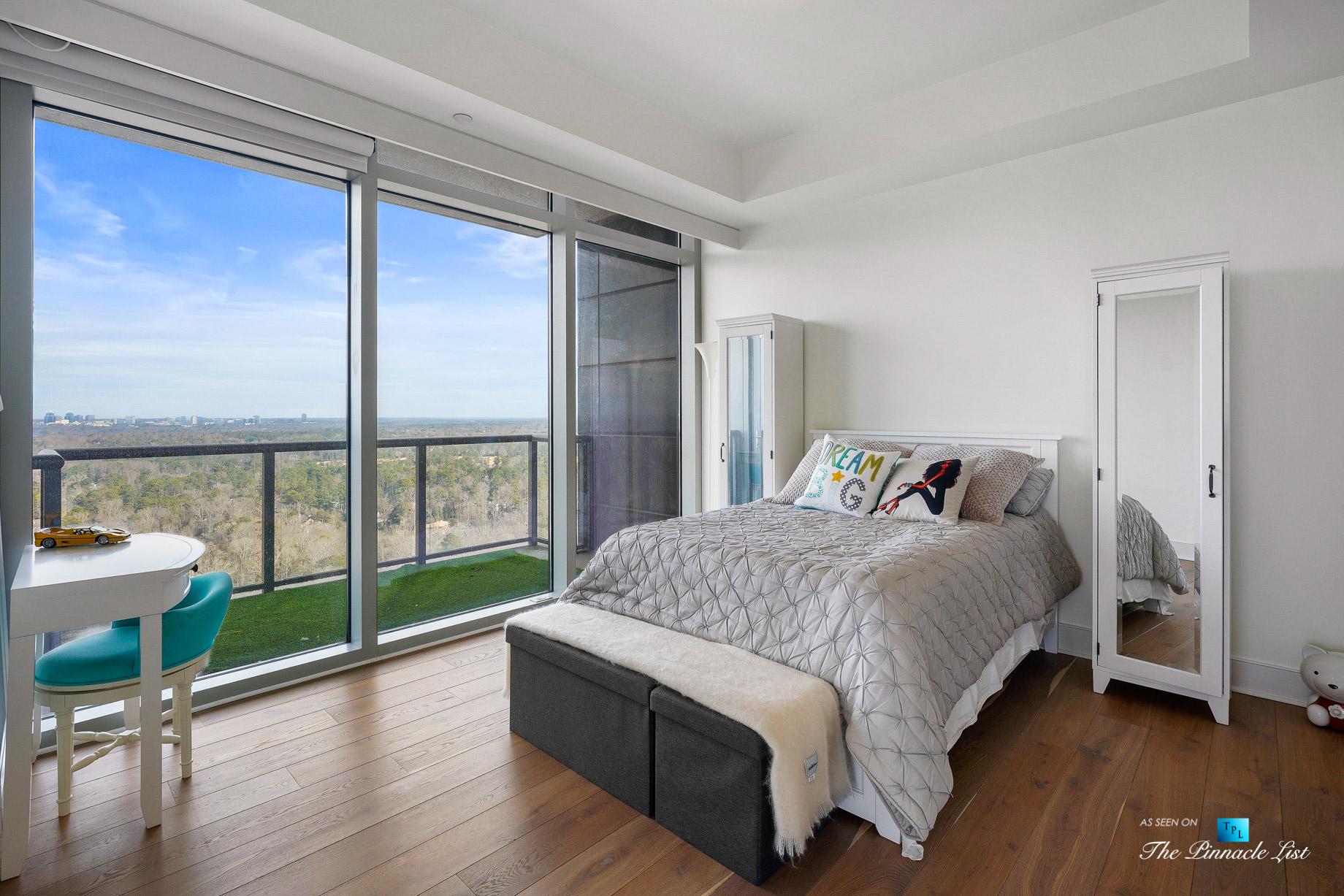 3630 Peachtree Rd NE, Unit 2307, Atlanta, GA, USA - Apartment Bedroom - Luxury Real Estate - Ritz-Carlton Residences Buckhead