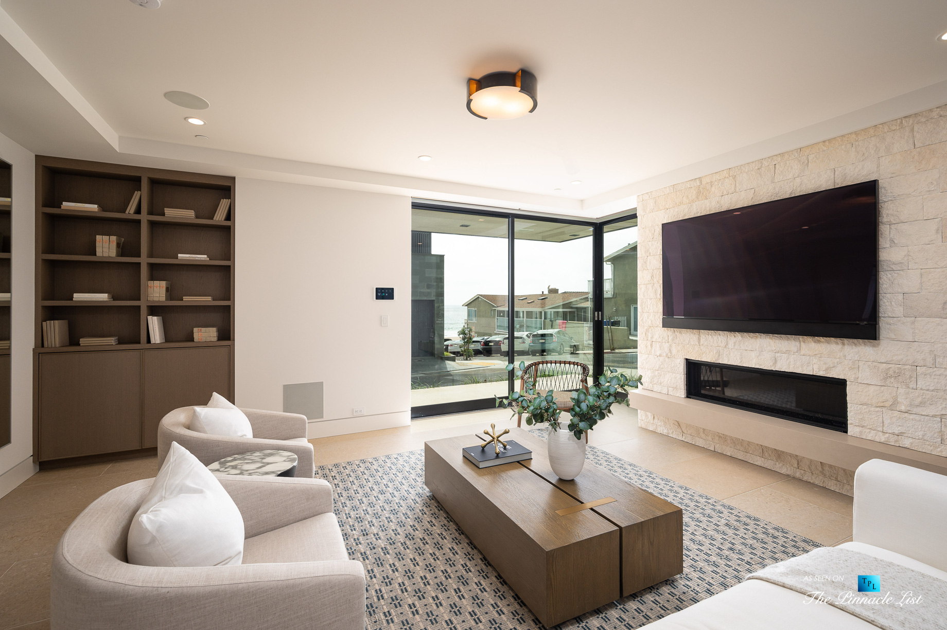2016 Ocean Dr, Manhattan Beach, CA, USA – Recreation Room – Luxury Real Estate – Modern Ocean View Home