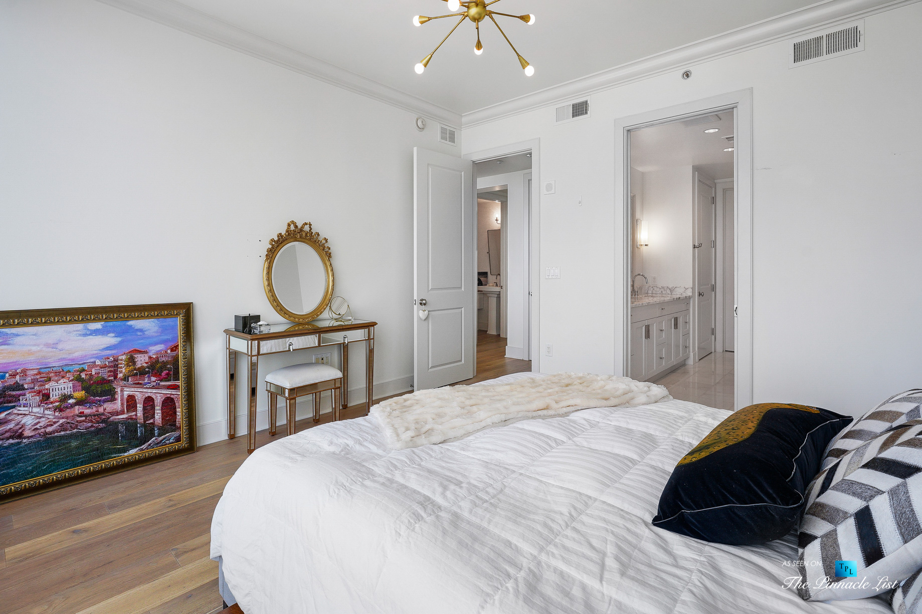 3630 Peachtree Rd NE, Unit 2307, Atlanta, GA, USA - Apartment Master Bedroom - Luxury Real Estate - Ritz-Carlton Residences Buckhead