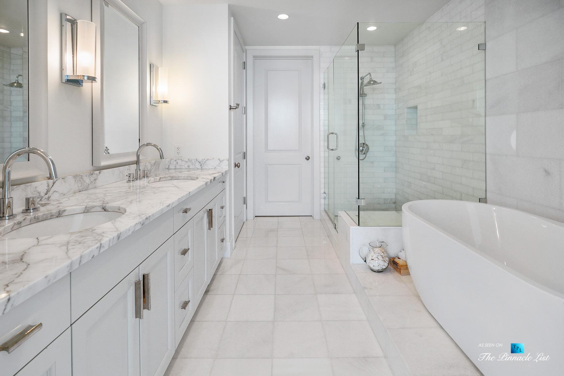 3630 Peachtree Rd NE, Unit 2307, Atlanta, GA, USA – Apartment Master Bathroom – Luxury Real Estate – Ritz-Carlton Residences Buckhead