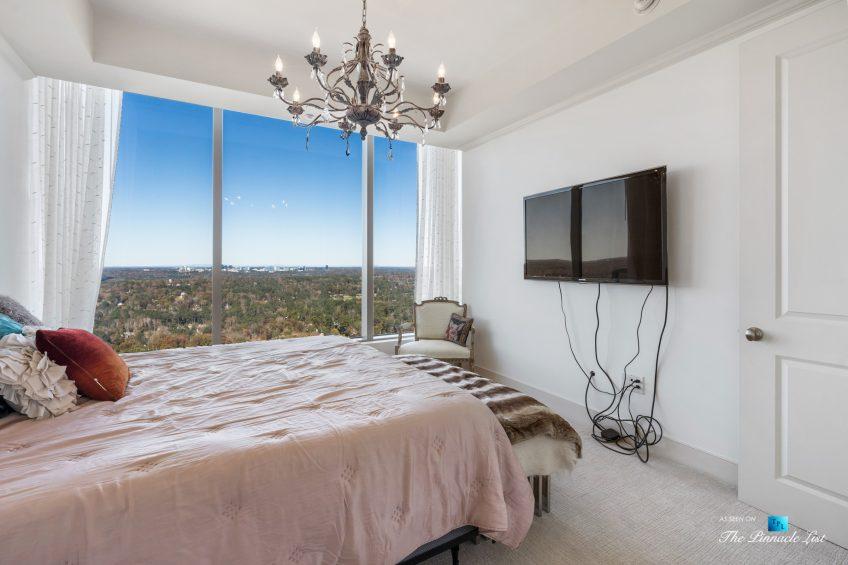3630 Peachtree Rd NE, Unit 2808, Atlanta, GA, USA - Condo Master Bedroom - Luxury Real Estate - The Ritz-Carlton Residences Buckhead