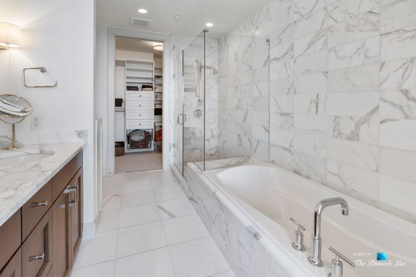 3630 Peachtree Rd NE, Unit 2808, Atlanta, GA, USA - Condo Master Bathroom - Luxury Real Estate - The Ritz-Carlton Residences Buckhead