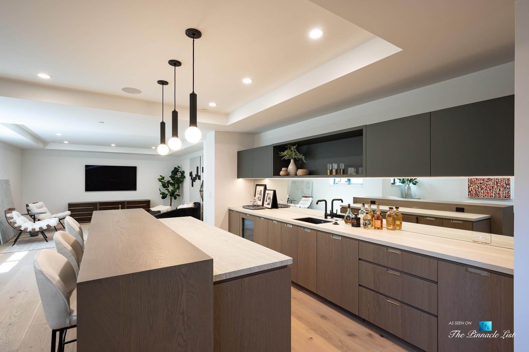 2016 Ocean Dr, Manhattan Beach, CA, USA - Bar and Recreation Room - Luxury Real Estate - Modern Ocean View Home