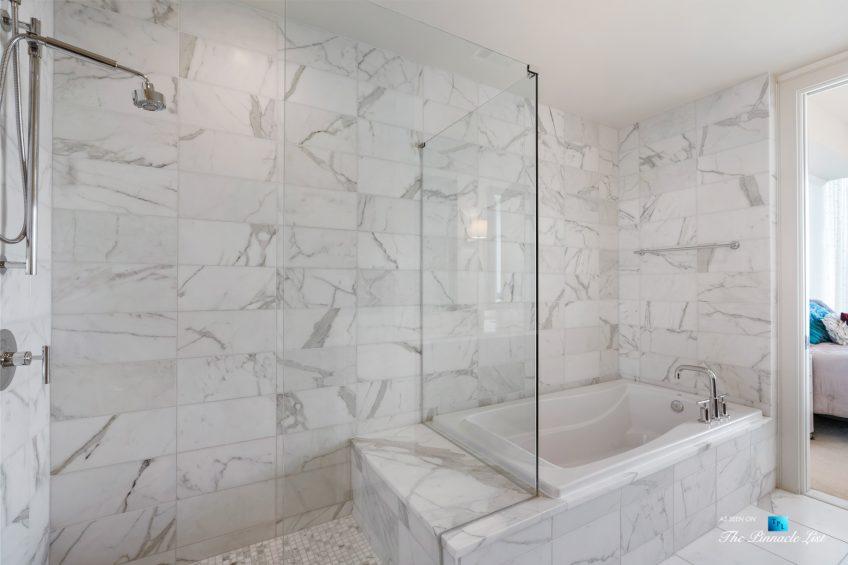 3630 Peachtree Rd NE, Unit 2808, Atlanta, GA, USA - Condo Master Bathroom Tub - Luxury Real Estate - The Ritz-Carlton Residences Buckhead