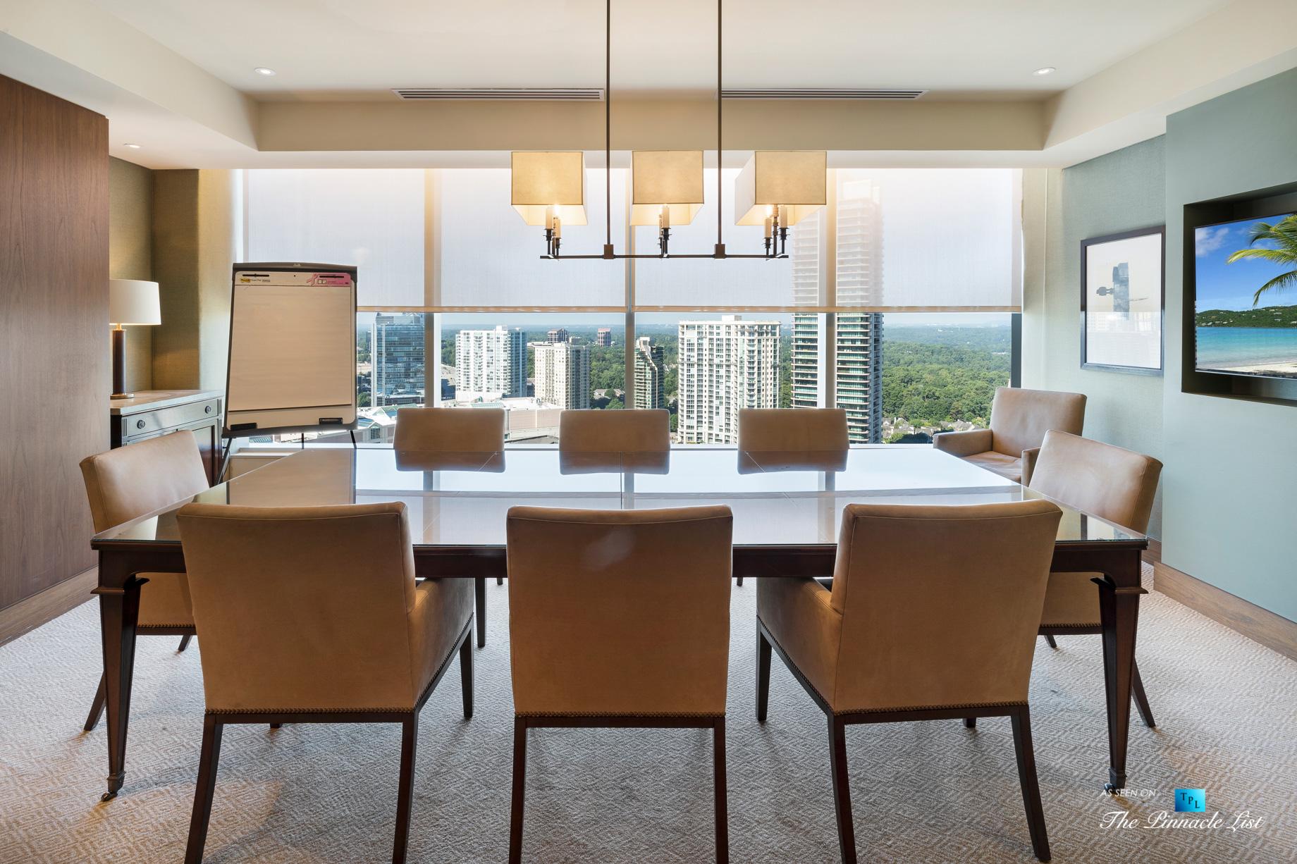3630 Peachtree Rd NE, Unit 2307, Atlanta, GA, USA - Apartment Amenities Room - Luxury Real Estate - Ritz-Carlton Residences Buckhead