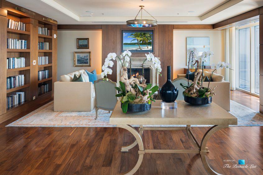 3630 Peachtree Rd NE, Unit 2808, Atlanta, GA, USA - Condo Amenity Room Sitting Area - Luxury Real Estate - The Ritz-Carlton Residences Buckhead